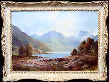 DOUGLAS FALCONER SCOTTISH LANDSCAPE OIL PAINTING LOCH TULLOCH  ART 1913-2004