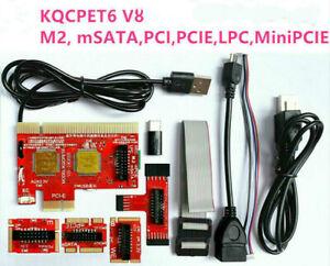 (AU) 6-Digit Mobile Phone Laptop Diagnostic Card for PCI/PCIe/Mini PCIe/LPC/EC