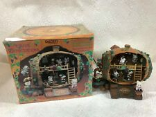 "New ListingRare Working Enesco Musical "" Grape Expectations The Winery"" Multi Action"