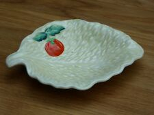 Vintage Beswick leaf and tomato dish