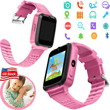 Bluetooth Smart Watch Gps Tracker Sos Call Kids Watch for Android Cell Phones