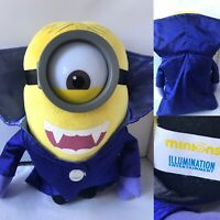 """Vampire Minion 11"""" Minions Plush Soft Toy Despicable Me Dracula Official"""