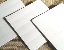 100 Foam self-adhesive sticky pads 20mm x 20mm crafting kids crafts Posters