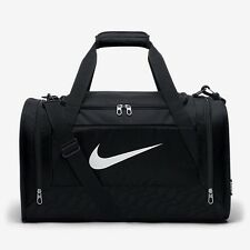 NIKE BRASILIA 6 BLACK MEDIUM DUFFEL GYM SPORTS HOLDALL TRAINING BAG 61L