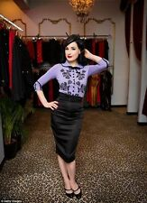 Wheels and dollbaby dita von tesse cardigan national velvet purple brand new box