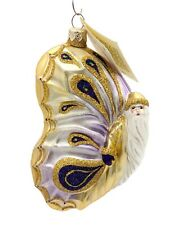 Patricia Breen Papillion Noël Lavender Shades Spring Holiday Butterfly Ornament