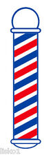 """Barber Pole Decal SC-9015  22"""" x 5"""" Window Peal-n-stick  colorful long lasting"""