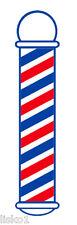 "Barber Shop Window Barber Pole Decal 22"" x 5"" Peal-n-stick #SC-9015"
