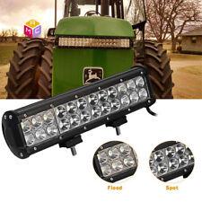 "Adjustable 12"" LED Light Bar Kawasaki Mule John Deere Gator Yamaha Rhino UTV ATV"