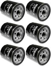 Set of 6 Saab 9-3 Mahle Engine Oil Filters OC981 93186554