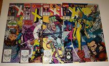X-MEN #269,270,271,272 JIM LEE NM 9.2/9.4 1990/91