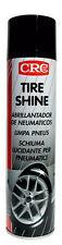 LIMPIADOR Y ABRILLANTADOR DE NEUMATICOS TIRE SHINE 400ML CRC 30646