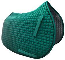 Emerald Green All-Purpose English Saddle Pad |  by PRI Pacific Rim