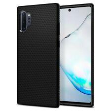 Coque pour Samsung Galaxy Note 10 Plus Liquid Air noir mat