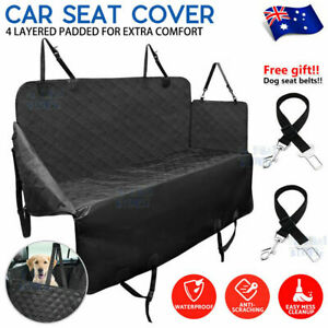 Premium Pet Back Car Seat Cover Hammock NonSlip Protector Zipper Mat Cat Dog Pet