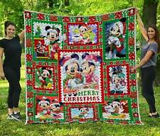 Mickey and Minnie Christmas - Premium Quilt