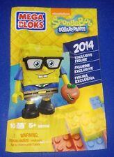 MEGA BLOKS SpongeBob SquarePants ComicCon 2014 Exclusive NERD GEEK Rare Figure