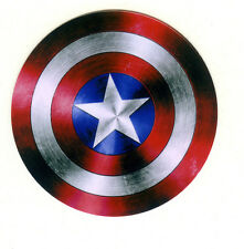 "Captain America Shield 7cm 3"" travel suitcase luggage Decal vinyl Sticker #1740"