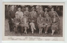 Manchester BBC Radio 2ZY Aunties and Uncles Real Photograph Marple Bridge 1920's