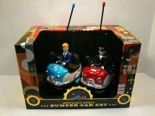 Fao Schwarz Nostalgic Bumper Remote Control Car Set. In original box.