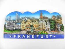 Frankfurt Poly Magnet XXL Relief Souvenir Germany,11 cm,NEU