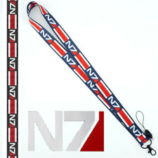 Game MASS EFFECT N7 Lanyard Neck Strap Cell Phone Rope KeyChain Cosplay Gift