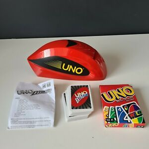 Uno Extreme Electronic Launcher & New Pack of Uno Cards by Mattel - Working