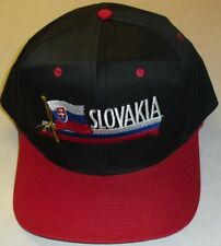 best website 57357 4f9a9 SLOVAKIA Country VIntage 80s 90s Snapback hat Brand New!