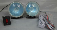 "UNIVERSAL 3.5"" 12V H3 55W ROUND FOG LIGHTS DRIVING LAMPS  KIT TRUCK CAR SUV"