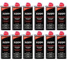 12 Zippo Cans 4 Ounce Fuel Fluid