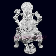 Exclusive Lord Ganesha Pure Silver Statue 220 gms Ganpati Murti Idol Figurine