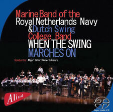 Marine Band of the R - When the Swing Marches on [New CD] Je