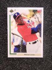 1991 Michael Jordan Baseball Rookie Card.  ACEO RP Card Mint Condition!!