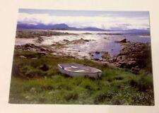 5 Foto - Postkarten Motiv Ruderboot, Natur, Neu Restposten