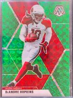 DeAndre Hopkins 2020 Mosaic GREEN Prizm ARIZONA CARDINALS