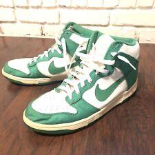 Rare 2010 Nike Dunk High Lucky Green Size 12 Please Read Description No Insoles