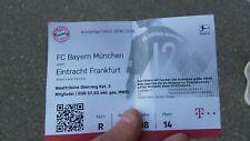 Used Sammler Ticket FC Bayern München vs Eintracht Frankfurt 1. BL 18/19 FCB SGE