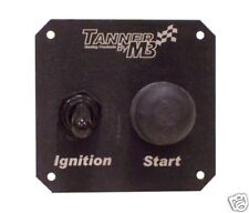 Tanner Racing Switch Panel w/Starter, Ignition, & Light