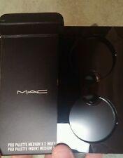 MAC pro palette medium x 2 insert, NEW