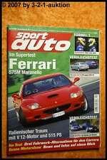 Sport Auto 12/02 Ferrari 575M Audi RS6 CLK 55 AMG BMW M
