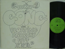 GONG - Live Floating Anarchy 1977 LP (RARE French Import on LTM)