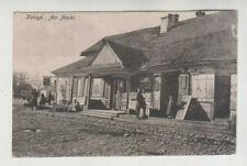 AK Weißrussland, Kobryn, Am Markt, Feldpost, 1917