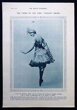IVY SHILLING AUSTRALIAN DANCER STAGE THEATRE BALLET PHOTO ARTICLE 1915