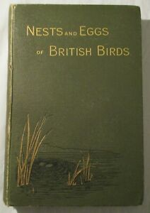 THE NESTS AND EGGS OF BRITISH BIRDS CHARLES DIXON HB CHAPMAN AND HALL 1ST 1893)