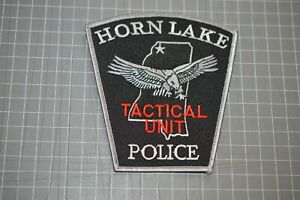 Horn Lake Mississippi Policed Tactical Unit Patch (B17-V)