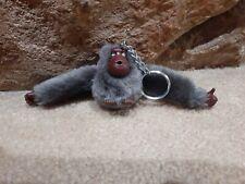 Kipling - Dark Gray Grey Alex Monkey Gorilla Ape - Keychain Purse Charm