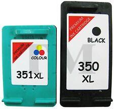 350XL Black & 351XL Colour Ink Cartridges Combo to fit HP Photosmart C4200