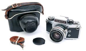 Ihagee Exakta VX 1000 marked FI made in Italy italian camera + Pancolar 50mm f2