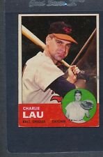 1963 Topps #041 Charlie Lau Orioles VG/EX *410