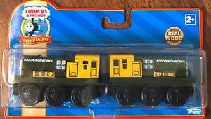 New Thomas & Friends Wooden Railway Iron 'Arry & Bert 2009 ~ LC99176